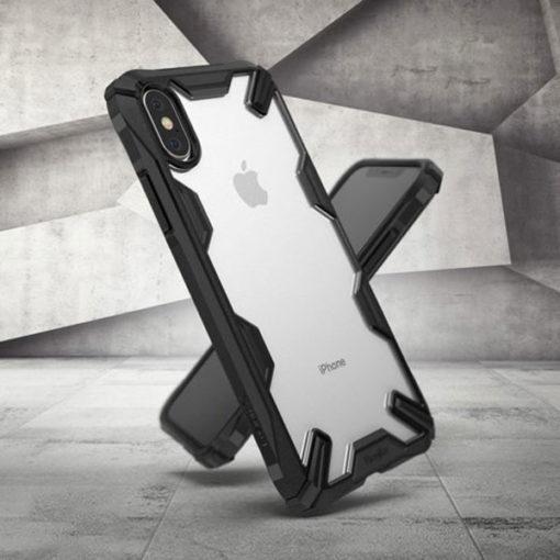 ovitek ringke fusion x za iphone x xs crna 2