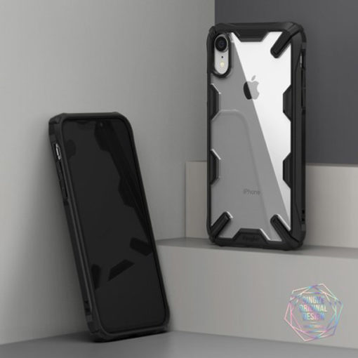 ovitek ringke fusion x za iphone xr crna 2