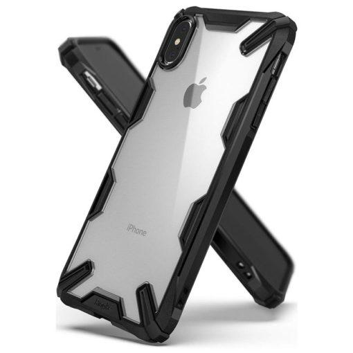 ovitek ringke fusion x za iphone xs max crna