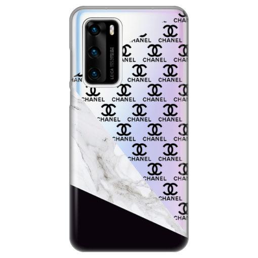 silikonski ovitek fashion marble za huawei p40