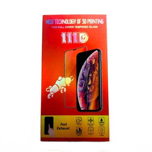 kaljeno zascitno steklo full glue za apple iphone 12 pro max crna obroba