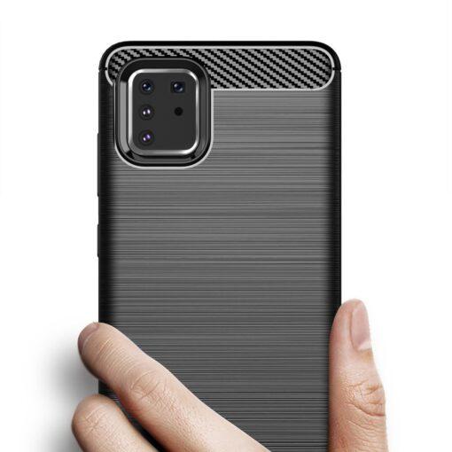 ovitek Carbon Flexible za Samsung Galaxy Note 10 Lite crna 1