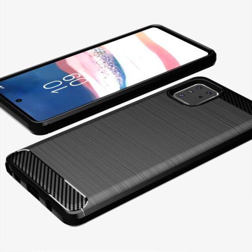ovitek Carbon Flexible za Samsung Galaxy Note 10 Lite crna 2