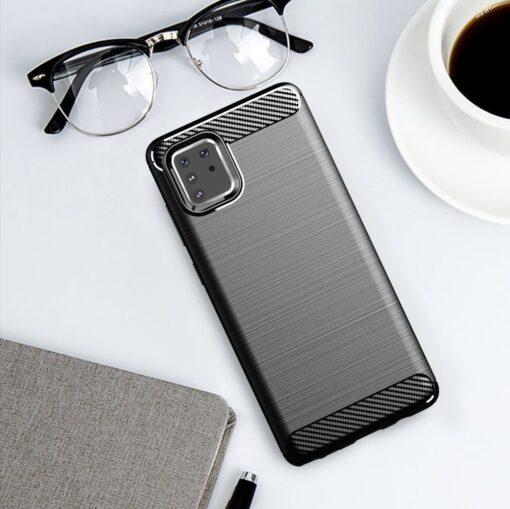 ovitek Carbon Flexible za Samsung Galaxy Note 10 Lite crna 3