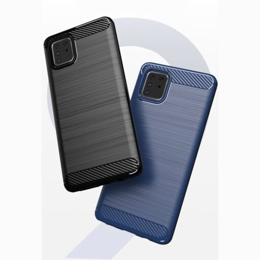 ovitek Carbon Flexible za Samsung Galaxy Note 10 Lite crna 5