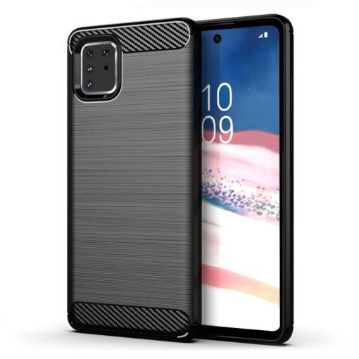 ovitek Carbon Flexible za Samsung Galaxy Note 10 Lite crna