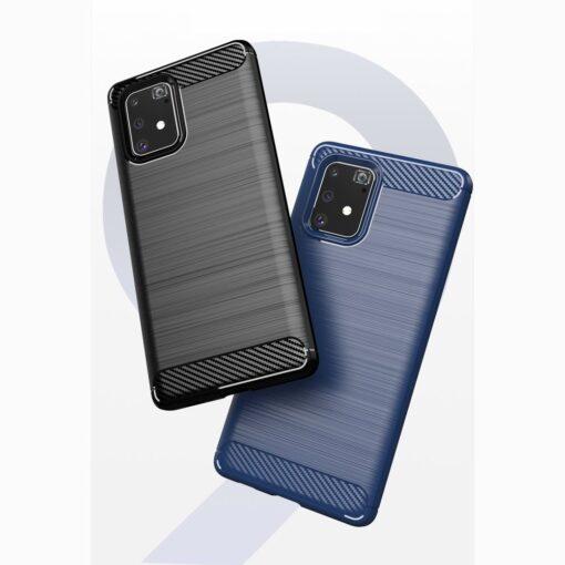 ovitek Carbon Flexible za Samsung Galaxy S10 Lite crna 1