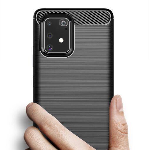 ovitek Carbon Flexible za Samsung Galaxy S10 Lite crna 2