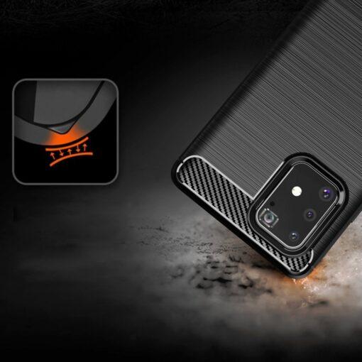 ovitek Carbon Flexible za Samsung Galaxy S10 Lite crna 4