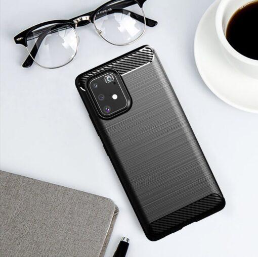 ovitek Carbon Flexible za Samsung Galaxy S10 Lite crna 5