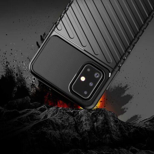 ovitek Flexible Tough Rugged za Samsung Galaxy A21S crna 3