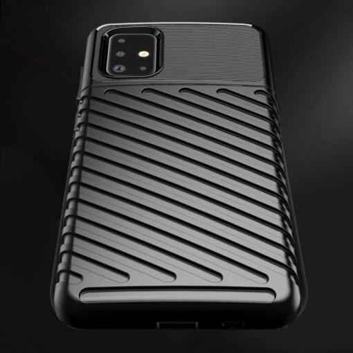 ovitek Flexible Tough Rugged za Samsung Galaxy A21S crna 4