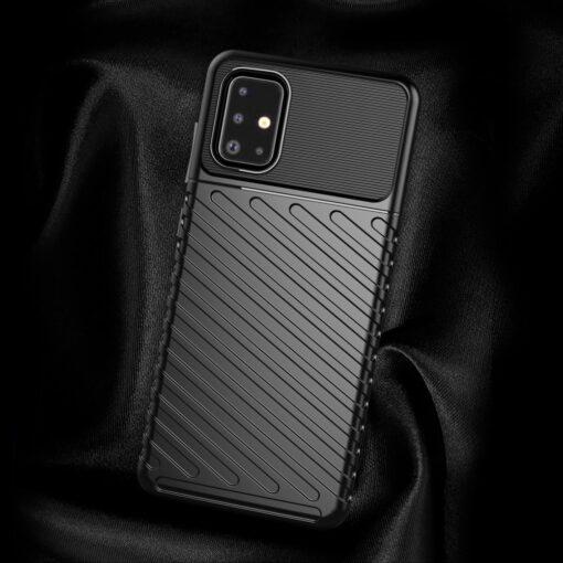 ovitek Flexible Tough Rugged za Samsung Galaxy A21S crna 5