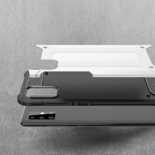 ovitek Hybrid Armor Tough Rugged za Samsung Galaxy Note 10 Lite crna 1