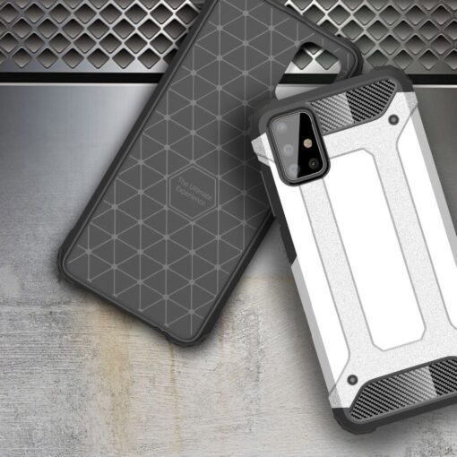 ovitek Hybrid Armor Tough Rugged za Samsung Galaxy Note 10 Lite crna 3