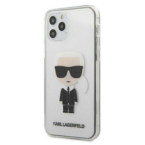ovitek Karl Lagerfeld za iPhone 12 hardcase ikonik transparent