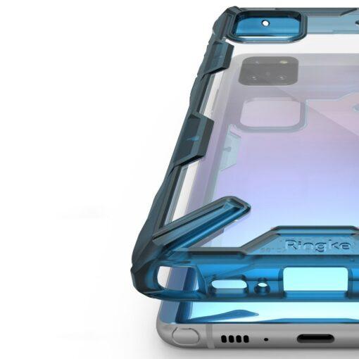 ovitek Ringke Fusion X durable za Samsung Galaxy Note 10 Lite crna 3