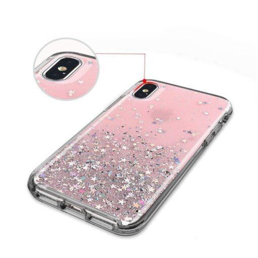 ovitek Shining Star Glitter Samsung Galaxy A31 crna 2