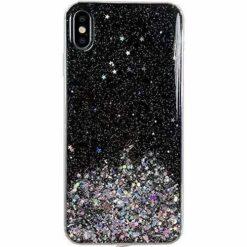 ovitek Shining Star Glitter Samsung Galaxy A31 crna