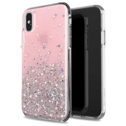 ovitek Shining Star Glitter Samsung Galaxy A31 roza 2