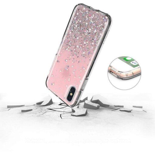 ovitek Shining Star Glitter Samsung Galaxy A31 roza 4
