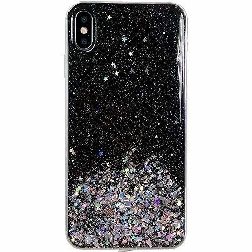 ovitek Shining Star Glitter za iPhone 12 pro crna
