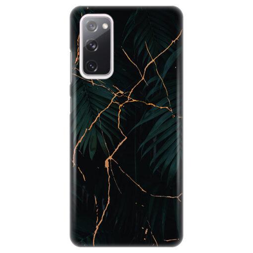 ovitek black marble za samsung galaxy s20 fe