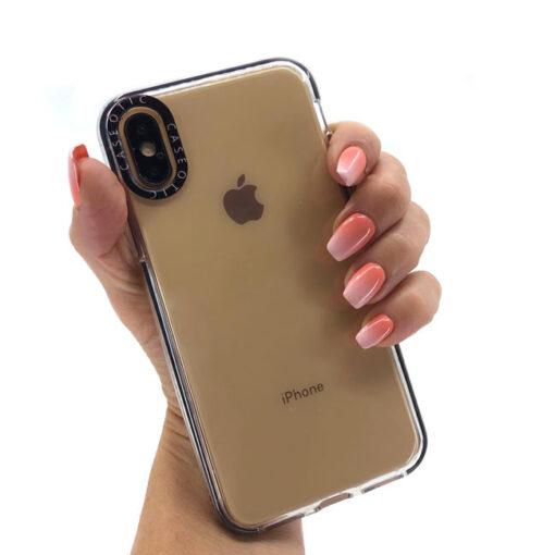 ovitek caseotic transparent za iphone x