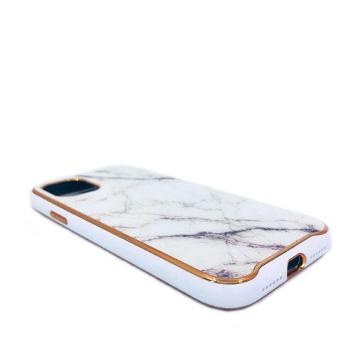 ovitek glass marmor za iphone 11 bela 3