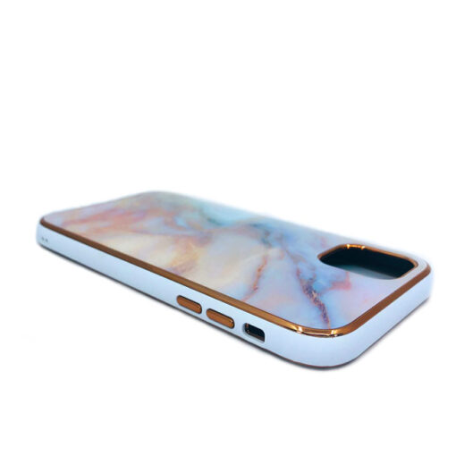 ovitek glass marmor za iphone 11 pro max peach 1