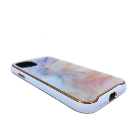 ovitek glass marmor za iphone 11 pro max peach 3