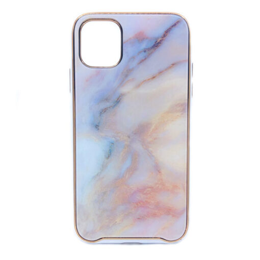 ovitek glass marmor za iphone 11 pro max peach