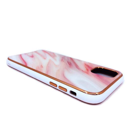ovitek glass marmor za iphone 11 pro max rdeca 1