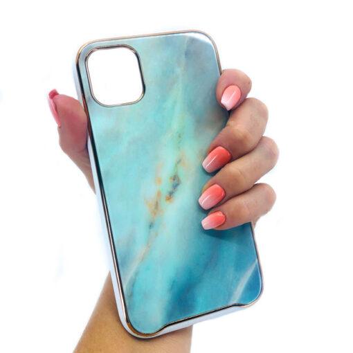 ovitek glass marmor za iphone 11 pro zelena 2