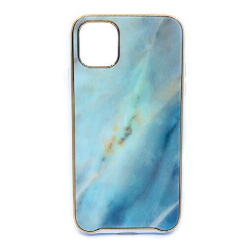 ovitek glass marmor za iphone 11 pro zelena