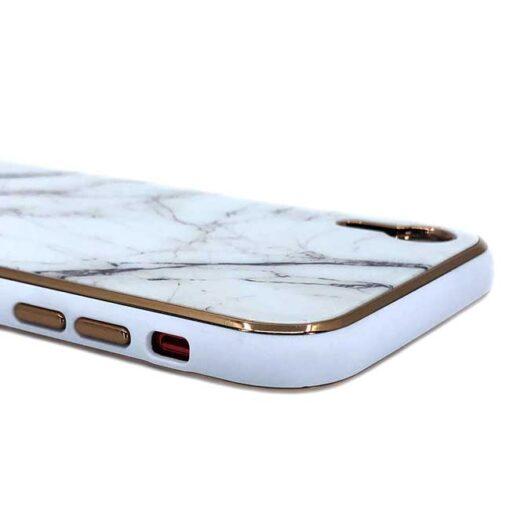 ovitek glass marmor za iphone xr bela 2