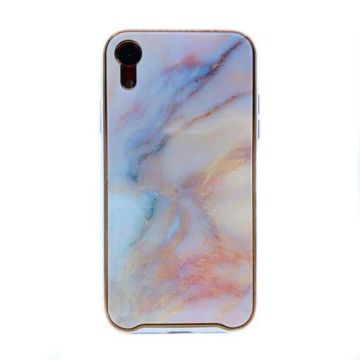 ovitek glass marmor za iphone xr peach 1