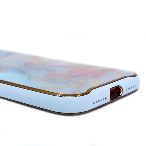 ovitek glass marmor za iphone xr peach 3