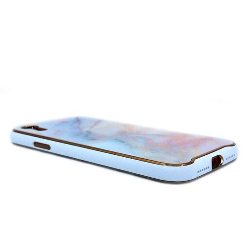 ovitek glass marmor za iphone xr peach 4