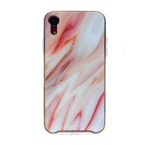 ovitek glass marmor za iphone xr rdeca 1