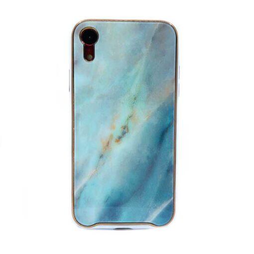 ovitek glass marmor za iphone xr zelena 1