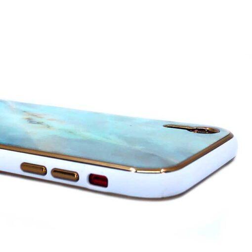 ovitek glass marmor za iphone xr zelena 2