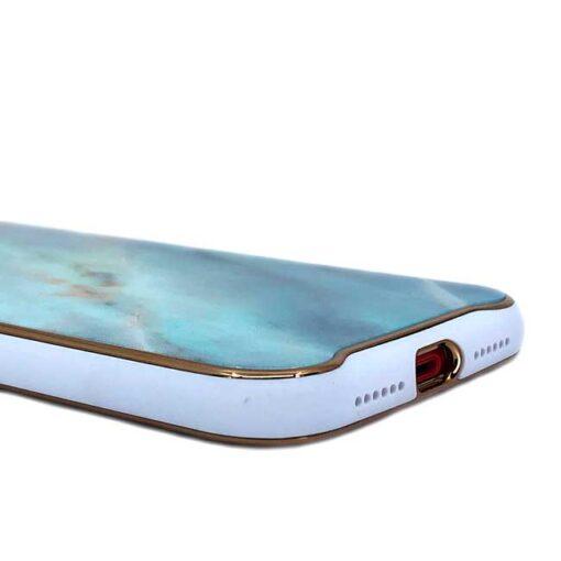 ovitek glass marmor za iphone xr zelena 3