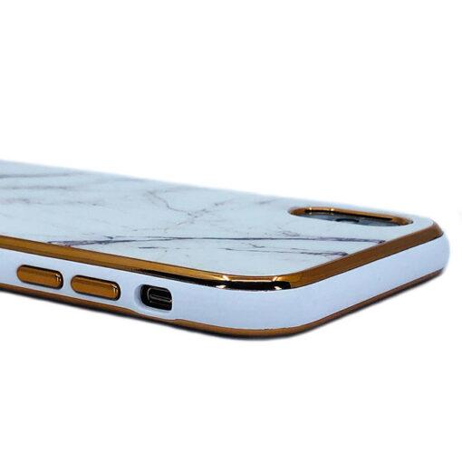 ovitek glass marmor za iphone xs bela 2