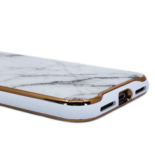 ovitek glass marmor za iphone xs bela 3