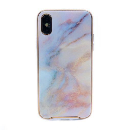 ovitek glass marmor za iphone xs peach 2