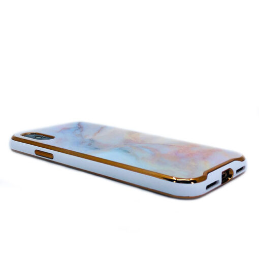 ovitek glass marmor za iphone xs peach 4
