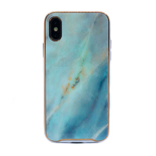 ovitek glass marmor za iphone xs zelena 1