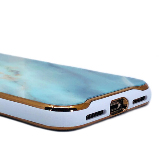 ovitek glass marmor za iphone xs zelena 3