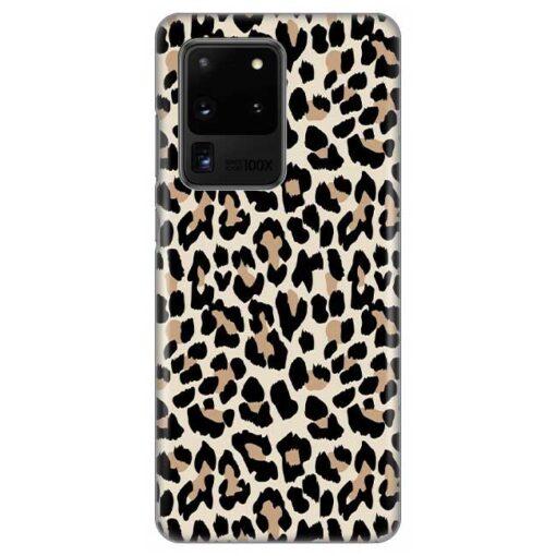 ovitek leopard pattern za samsung galaxy s20 ultra
